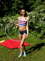 Charity Crawford By Als Photographer In Hula And Hooping ::: Als Scan :::