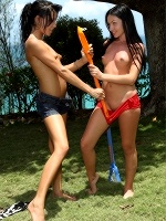 Sasha Rose And Tanner Mayes In Lesbian Lacrosse - Photo 5