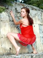 Gella Red Dress ::: Averotica :::