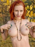 Olivia I By Stanislav Borovec In Golden Autumn ::: Eroticbeauty :::