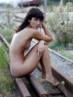Amandine C By Tom Rodgers In Do Not Miss This Train ::: Femjoy :::