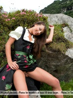 Lorena G By Stefan Soell In Sexy Mountain Views - Photo 1
