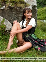 Lorena G By Stefan Soell In Sexy Mountain Views ::: Femjoy :::