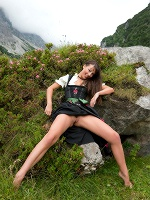 Lorena G By Stefan Soell In Sexy Mountain Views - Photo 5