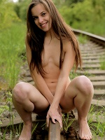 Misa By Femjoy Exclusive In Hidden Railway - Photo 2