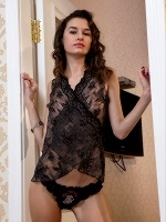 Cristin By Albert Varin In Sensual Lace ::: Met Art :::