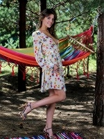 Monika Dee By Leonardo In The Hammock ::: Met Art :::