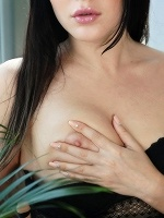 Black Fox By Flora In City Garden ::: Metart X :::