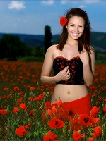 Alma Smiling Poppies ::: Mpl Studios :::