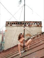 Nastia Rooftop Pole Dance - Photo 12