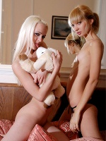 Vika And Annabella Double Blonde ::: Skokoff :::