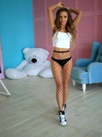 Mia In Blue Eyed Fishnet Stockings Angel ::: Stasyq :::