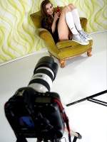 Connie Carter In Behind The Scene ::: Watch4beauty :::