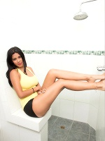 Kendra Roll In Dildo In Shower - Photo 1