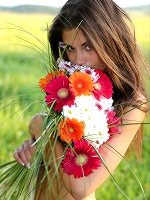 Little Caprice In Flower Power ::: Watch4beauty :::