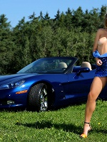 Malinda A In Corvette - Photo 3