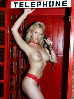 Mandy Tee In Phone Booth ::: Watch4beauty :::