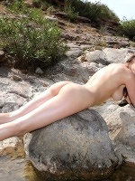 Milla In Quickie By The Creek ::: Watch4beauty :::